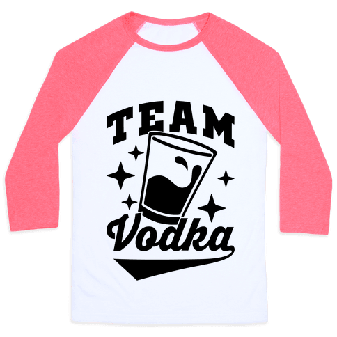 Team Vodka Baseball Tee