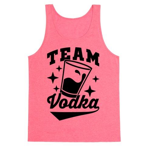 Team Vodka Tank Top