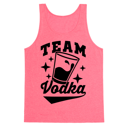 Team Vodka Tank Top