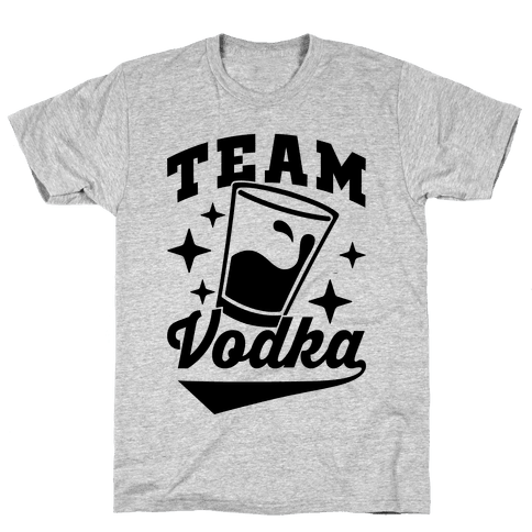 Team Vodka Mens T-Shirt