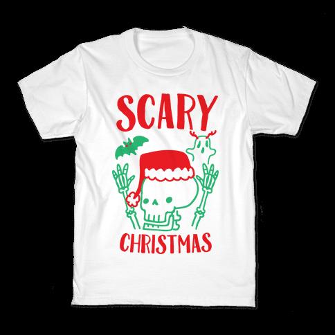 Scary Christmas  Kids T-Shirt