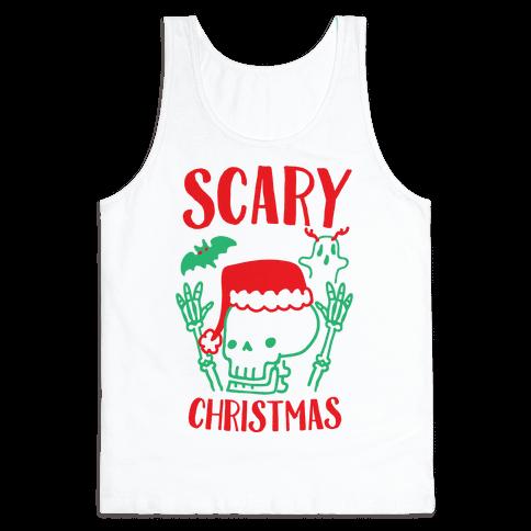 Scary Christmas  Tank Top