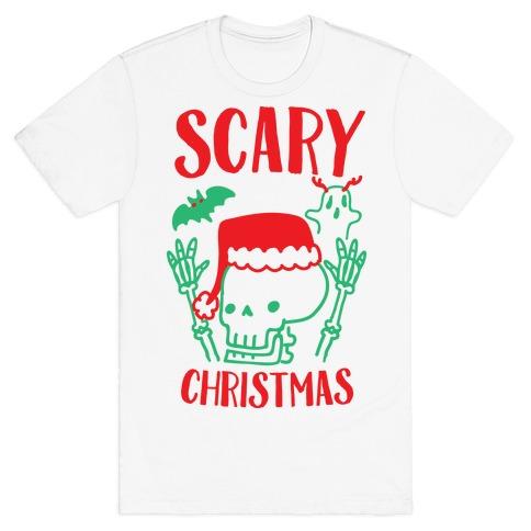 Scary Christmas T-Shirt Masswerks Store