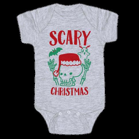 Scary Christmas  Baby Onesy