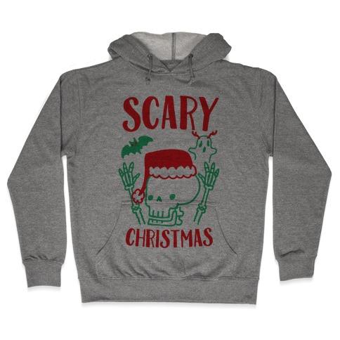 Scary Christmas Hooded Sweatshirt