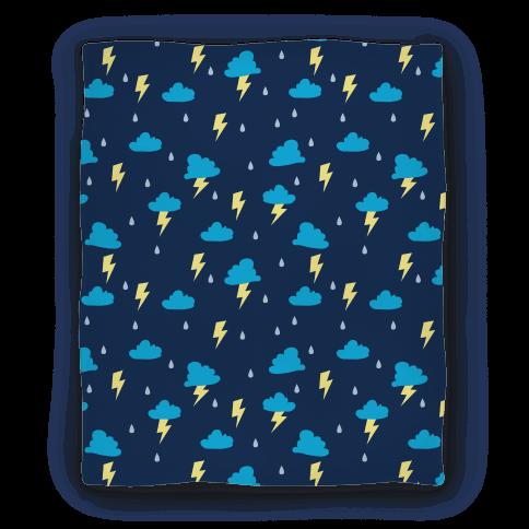 Thunderstorm Pattern Blanket