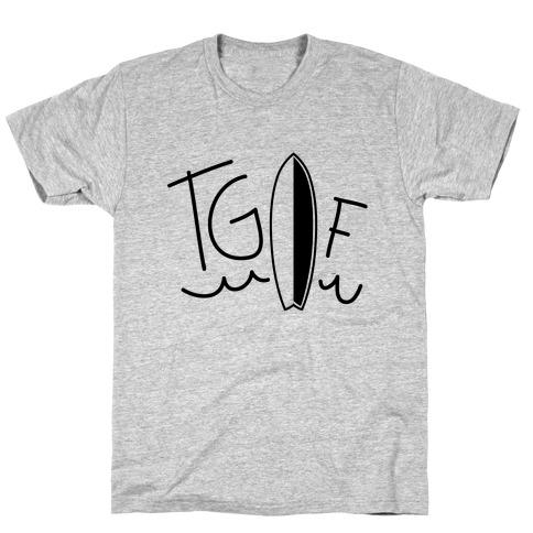 TGIF (Surfboard) (Neon) T-Shirt