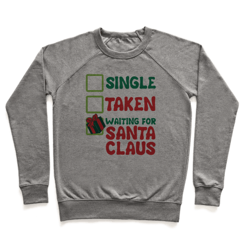 Waiting For Santa Claus Pullover