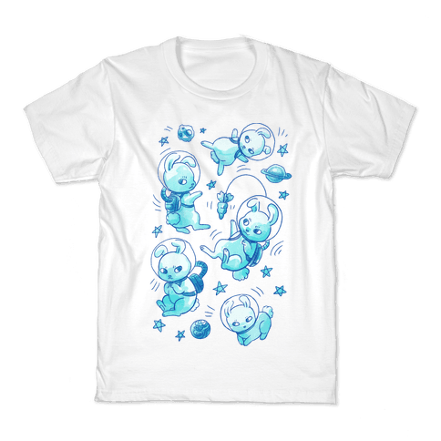 Bunnies In Space Kids T-Shirt