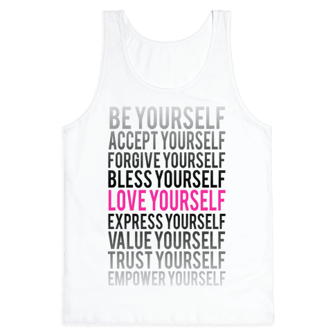 Love Yourself Tank Top
