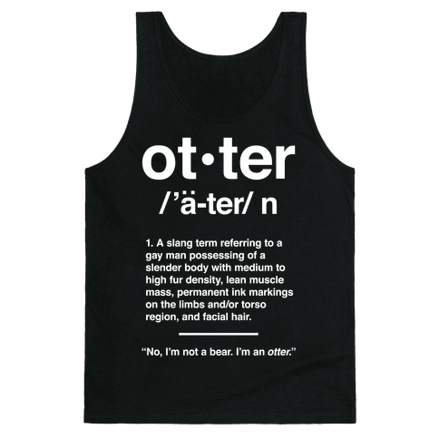 Otter Definition Tank Top