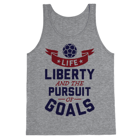 The Pursuit Of Goals Tank Top