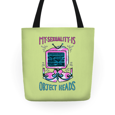 My Sexuality is Object Heads Tote Tote