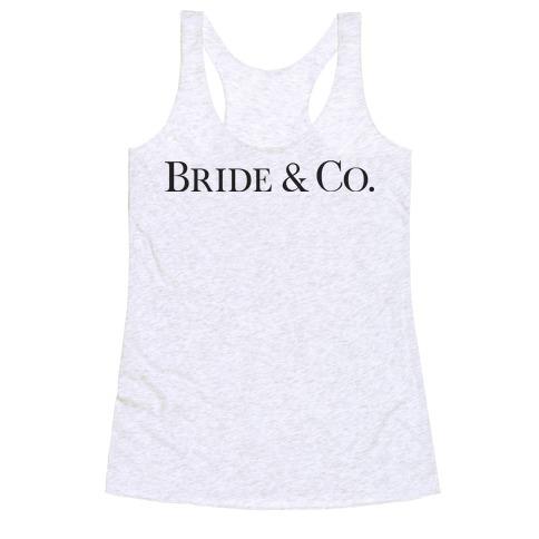 Bride & Co Racerback Tank Top