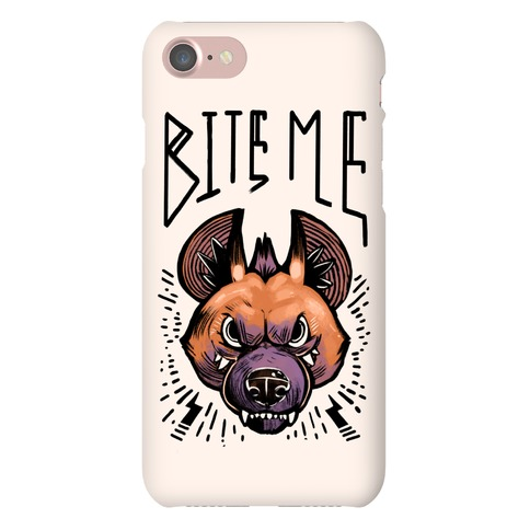 Bite Me- Hyena Phone Case
