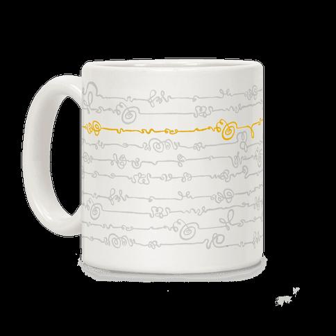 Scribble Doodle Pattern Coffee Mug