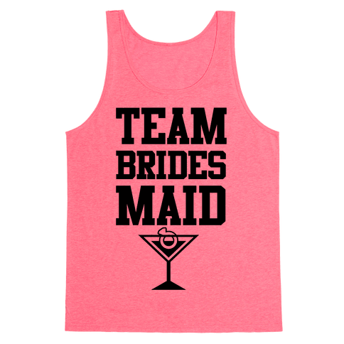 Team Bridesmaid Tank Top
