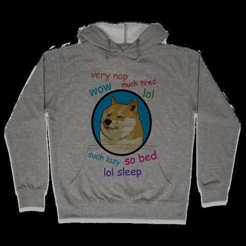 Nap Doge Hooded Sweatshirt