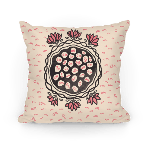 Om Lotus Pillow