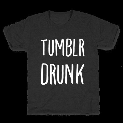 Tumblr Drunk Kids T-Shirt