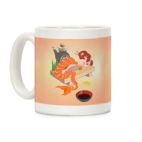 Mermaid Sushi Coffee Mug