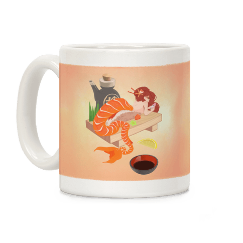 Mermaid Sushi Coffee Mug