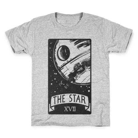 The Star Tarot Card Kids T-Shirt