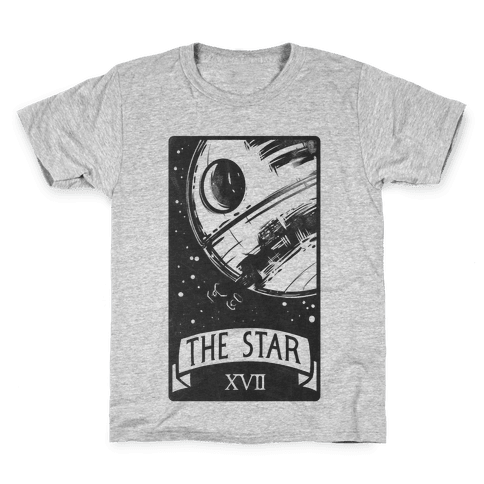 The Star Tarot Card Kids T-Shirt