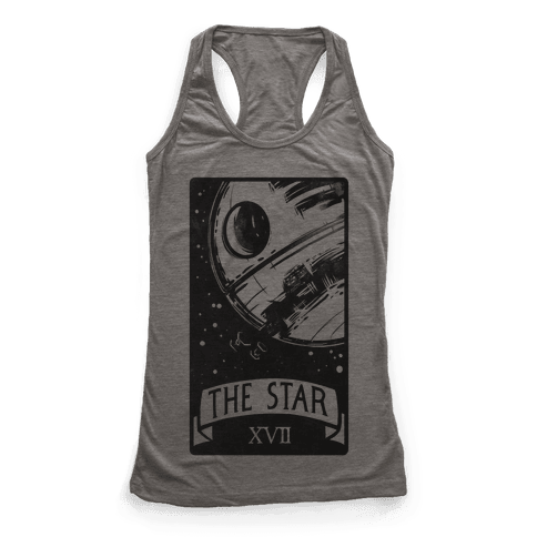 The Star Tarot Card Racerback Tank Top