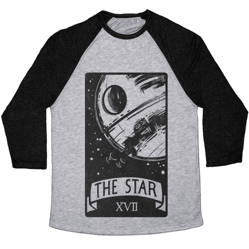 The Star Tarot Card Baseball Tee