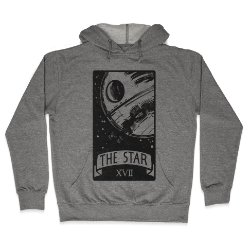 The Star Tarot Card Hooded Sweatshirt