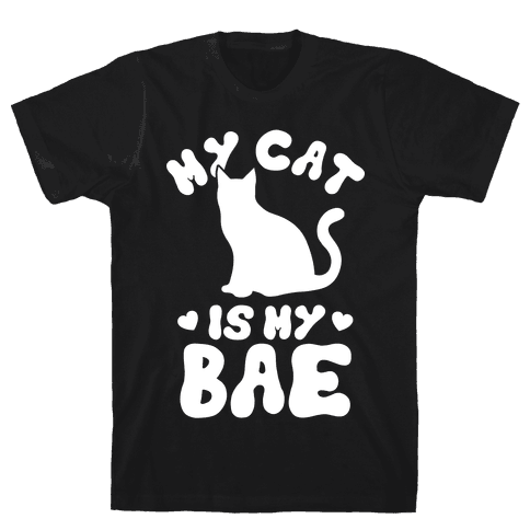 My Cat Is My Bae Mens T-Shirt