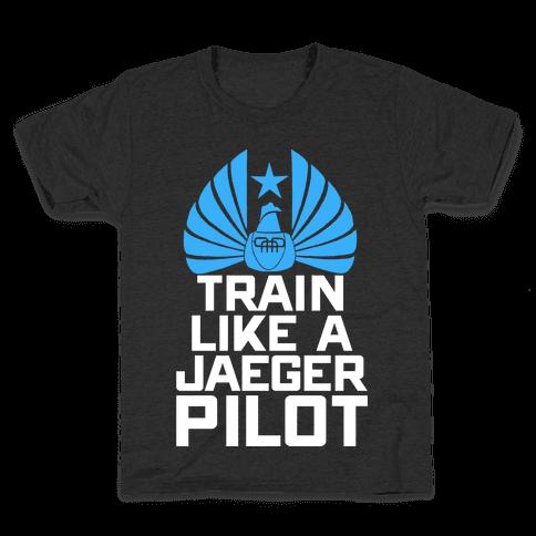 Train Like a Jaeger Pilot Kids T-Shirt
