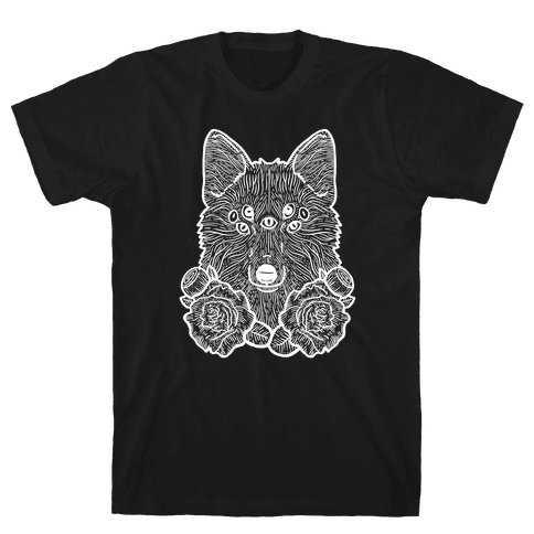 Seven Eyed Fox Mens T-Shirt