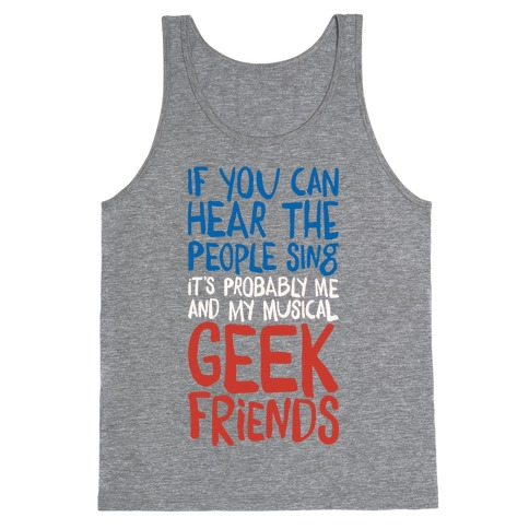 Musical Geeks Tank Top