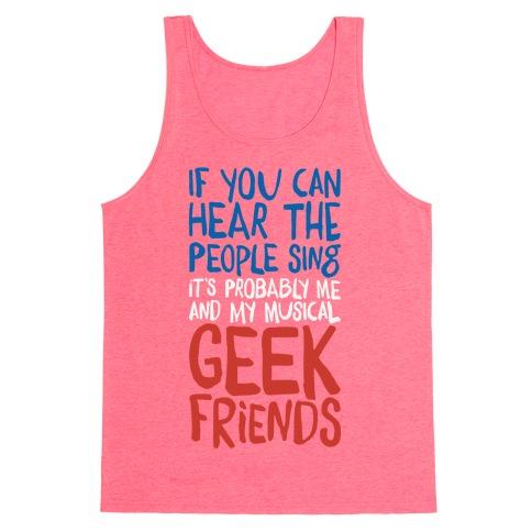 Musical Geeks Tank Top