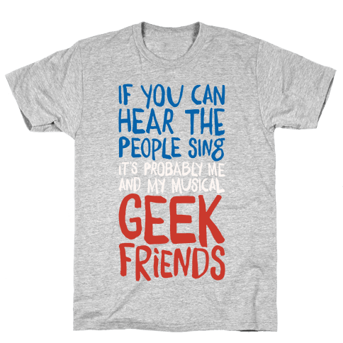 Musical Geeks Mens T-Shirt