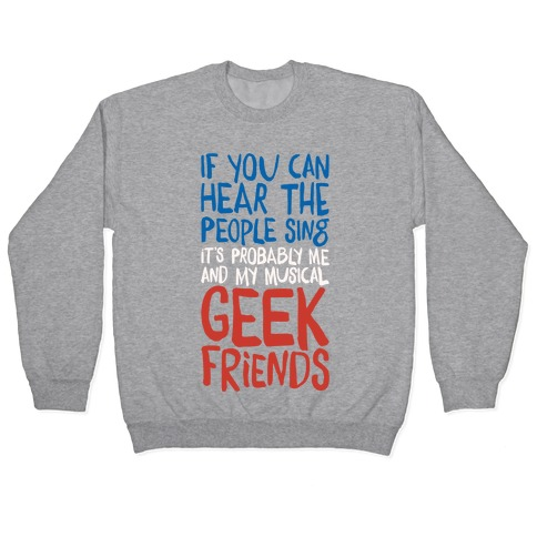 Musical Geeks Pullover