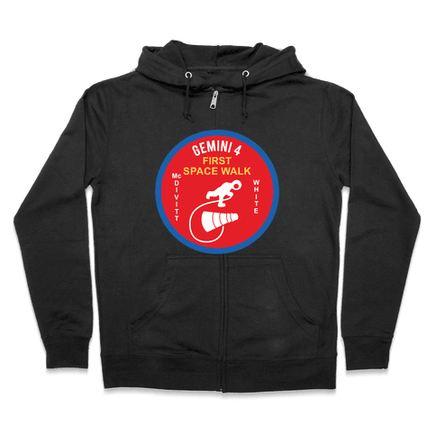 Gemini 4 First Space Walk Zip Hoodie