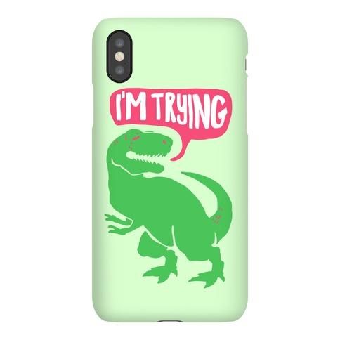 Hug Me Dinosaur (Part Two) Phone Case