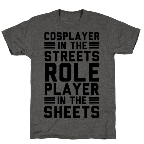 Cosplayer In The Streets. Role Player In The Sheets