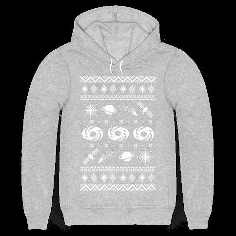 Interstellar Christmas Sweater Pattern