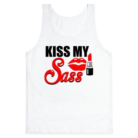 Kiss My Sass Tank Top