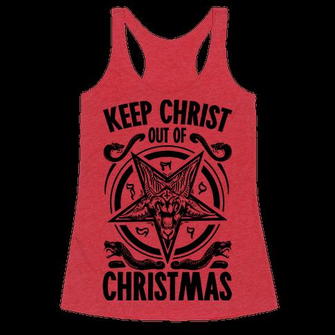 Keep Christ Out of Christmas Baphomet