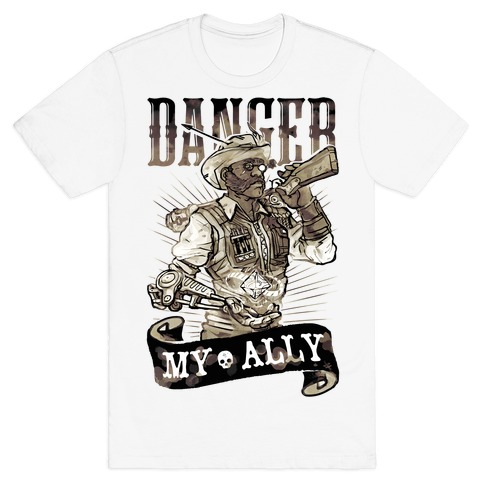 Danger My Ally Mens T-Shirt
