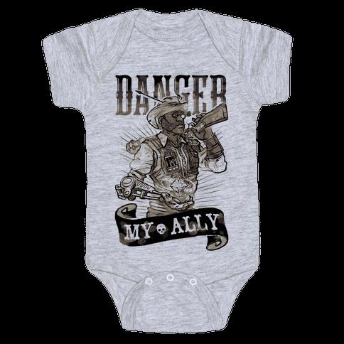 Danger My Ally Baby Onesy
