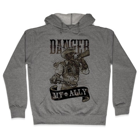 Danger My Ally Hooded Sweatshirt