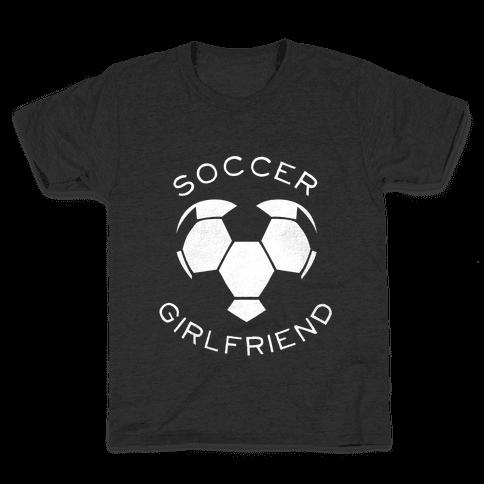 Soccer Girlfriend (Dark Tank) Kids T-Shirt