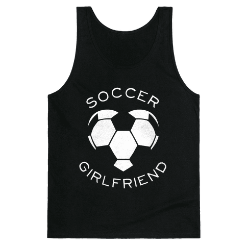 Soccer Girlfriend (Dark Tank) Tank Top