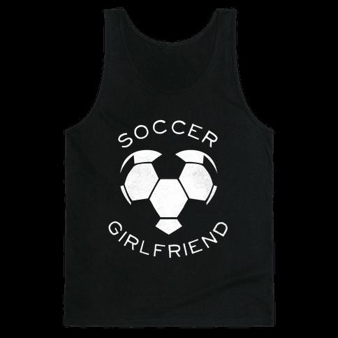 Soccer Girlfriend (Dark Tank) Tank Top